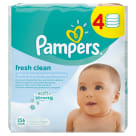 PAMPERS Baby Fresh Baby Wipes 3 x 64 per Pack + 1 Pack FREE! 1 pc