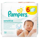 PAMPERS Sensitive Baby Wipes 6x56 pcs 1 pc
