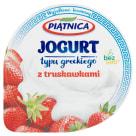 PIĄTNICA Greek style yoghurt with strawberries 150g