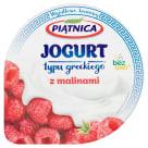 PIĄTNICA Greek yoghurt 0% fat with raspberries 150g