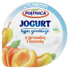 PIĄTNICA Greek style yoghurt with pear and apple 150g
