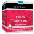 DILMAH Exceptional Herbata czarna Ceylon Spice Chai 20 torebek 40g