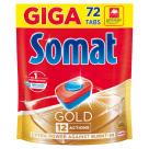 SOMAT Gold Tablets for washing dishes in dishwashers 72 pcs 1.382kg