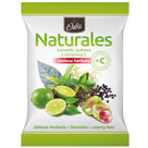 ODRA Naturales Karmelki ziołowe z witaminą C Zielona Herbata 60g