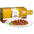 GOURMET Gold Food for adult cats chunks in sauce 4 pcs 340 g