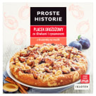 PROSTE HISTORIE Yeast cake with plums and cinnamon 485 g