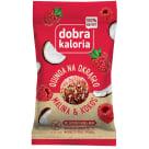 DOBRA KALORIA Quinoa round the clock Raspberry&Coconut 24g