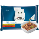 GOURMET Perle Cat food in tasty sauce (4 sachets) 340 g