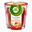 AIR WICK Essential Oils Infusion Scented candle Apple with cinnamon 105g