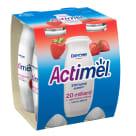 DANONE Actimel Napój mleczny truskawkowy 4 szt. 400g