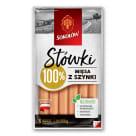 SOKOŁÓW Stówki Sausages with ham 250g
