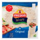 MISSION Wraps Tortilla pszenna 6szt Original 370g