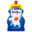 DANONE Gratka Deser mleczny o smaku truskawkowym 65g
