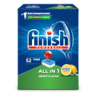 FINISH All in 1 Tabletki do zmywarek - Powerball Lemon 52szt. 1 szt