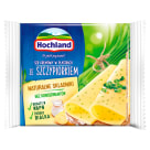 HOCHLAND Cream cheese sliced with chives 130 g
