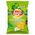 LAYS KARBOWANE Green Onion Chips 130 g