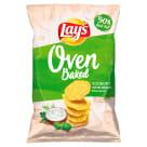 LAYS z Pieca Chipsy Jogurt z ziołami ogrodowymi 125g