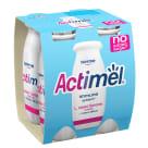 DANONE Actimel Napój mleczny naturalny bez dodatku cukru 4 szt. 400g