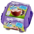 MILKA Egg 'n' Spoon Jajka czekoladowe z mleka alpejskiego z nadzieniem Oreo WN 128g