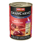 ANIMONDA Grancarno Senior Dog Food - Beef & Turkey hearts 400 g