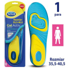 SCHOLL GelActiv Insoles for women s everyday shoes size 35.5-40.5 1 pc