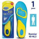 SCHOLL GelActiv Insoles for everyday men s shoes size 40-46.5 1 pc