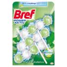 BREF Power Aktiv ProNature Zawieszka do WC - Mięta i Eukaliptus 3x50g 1szt
