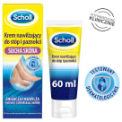 SCHOLL Moisturizing cream for feet and nails dry skin 60 ml