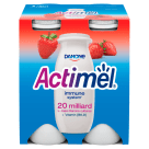 DANONE Actimel Strawberry active milk 4 pcs 400 g
