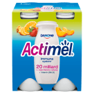 DANONE Actimel Multifruit active milk 4 pcs 400 g