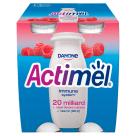 DANONE Actimel Raspberry active milk 4 pak 400g