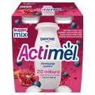 DANONE Actimel Milk drink with pomegranate-berry-maca flavor 4 pcs 400 g