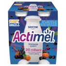 DANONE Actimel Milk drink sea buckthorn & blackcurrant & acai 4 pcs 400 g