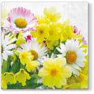 TETE Á TETE Serwetki wielkanocne-wiosenne kwiaty 20 szt. 1szt