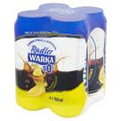 WARKA Radler Piwo bezalkoholowe ciemne cytrynowe 4x500ml 2l