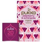 PUKKA Herbatka aromatyzowana Elderberry&Echinacea BIO 20 torebek 40g