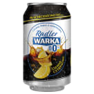 WARKA Radler Dark lemon non-alcoholic beer 330 ml