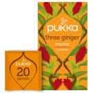 PUKKA Flavoured tea Three Ginger BIO 20 bags 36 g