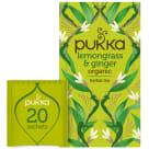 PUKKA Herbatka aromatyzowana Lemongrass & Ginger BIO 20 torebek 36g