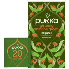 PUKKA Herbal tea Ginseng Matcha Green BIO 20 bags 30 g