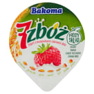 BAKOMA 7 zbóż Jogurt z truskawkami i ziarnami zbóż 140g