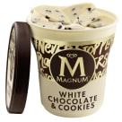 MAGNUM White Chocolate&Cookies Lody o smaku białej czekolady z ciasteczkami 440ml