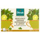 DILMAH Zioła do zaparzania Bergamot Orange Peppermint & Lemon 20 toreb. 40g