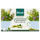 DILMAH Zioła do zaparzania Lemongrass & Spearmint 20 torebek 40g