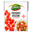 ŁOWICZ Tomatoes cut without skin 390 g