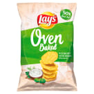 LAYS z Pieca Chips Yogurt with garden herbs 125 g