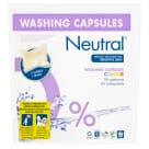 NEUTRAL Hipoalergiczne kapsułki do prania tkanin kolorowych 22 kapsułki 1szt