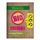 LOVE&KO Ser Cheddar - plastry BIO 100g