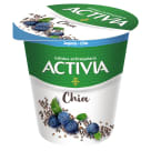 DANONE Activia Yogurt flavored with blueberries with chia 140 g
