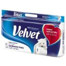 VELVET Delikatnie Biały Toilet Paper, 8 per Pack 1pc